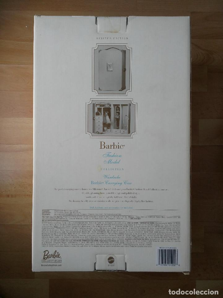 Barbie y Ken: Detalles de Barbie Wardrobe Carrying Case Silkstone BFMC # B1328 NRFB - Foto 4 - 109164811