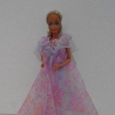 Barbie y Ken: MUÑECA BARBIE, RASO LILA, MATTEL SPAIN. Lote 115813058