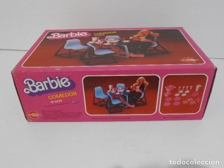 Barbie y Ken: BARBIE, COMEDOR, CAJA ORIGINAL, CASI COMPLETO, MATTEL CONGOST SPAIN - Foto 11 - 111816683