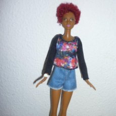 Barbie y Ken: BARBIE FASHIONISTA -FLECOS FANTASTICOS-2015MATEL 1186MJ.1.NL-NUEVA DIFICIL. Lote 112049627