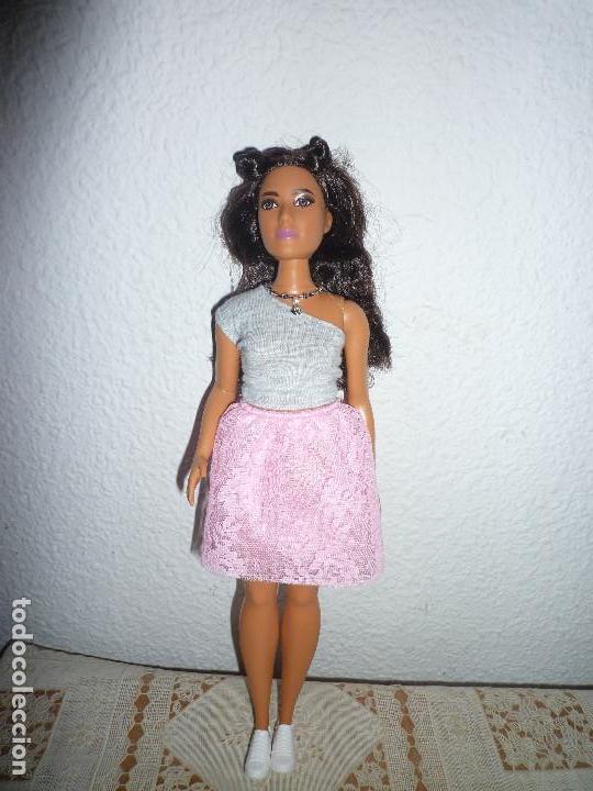 BARBIE FASHIONISTA 2015 MATTEL- Nº65-CURVY- NUEVA- DESCATALOGADA DIFICIL ENCONTRAR (Juguetes - Muñeca Extranjera Moderna - Barbie y Ken)