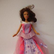 Barbie y Ken: (TC-109) MUÑECA BARBIE CUELLO 2007 MATTEL ESPALDA 2001 MATTEL CHINA 0568HR. Lote 112627183