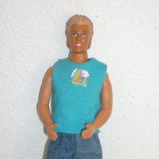 Barbie y Ken - KEN BARBIE DOLL 1968 MATTEL BLONDE MALAYSIA FULLY CLOTHED VINTAGE - 112761339
