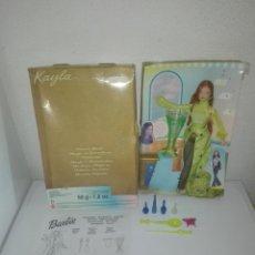 Barbie y Ken: PRECIOSA MUÑECA BARBIE KAYLA PELIRROJA HECHICERA HECHIZOS MAGICOS SECRET SPELLS . Lote 112986847