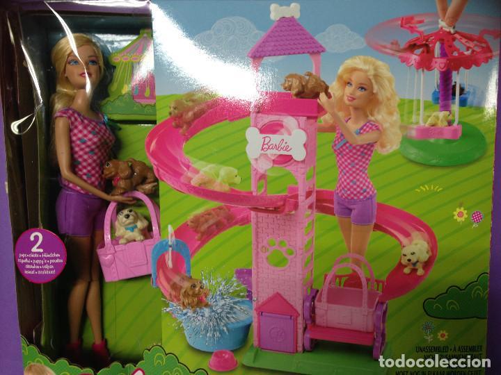 JuegosMascotas Spin MuñecaConjunto PupstmMattel rSlideamp; Accesorios Y Barbie De kZiXOPuT