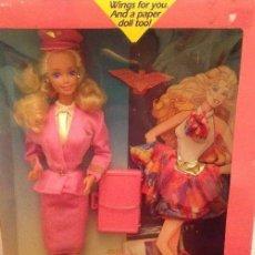 Barbie y Ken: BARBIE AZAFATA. 1989. VINTAGE. AÑOS 80.. Lote 113461659