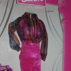 Barbie y Ken: VESTIDO CONJUNTO MUÑECA BARBIE FASHION AVENUE BOUTIQUE MATTEL. Lote 114215691