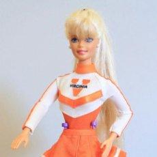 Barbie y Ken: MUÑECA BARBIE DOLLS GIMNASTA, ANIMADORA. Lote 115335311