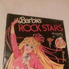 Barbie y Ken: ALBUM CROMOS BARBIE ROCK STARS (PANINI-1986) COMPLETO CON SU DÍPTICO CENTRAL. Lote 116376287