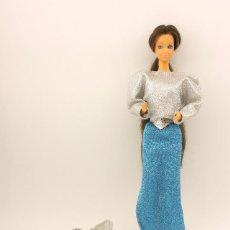 Barbie y Ken: ANTIGUA MUÑECA BARBIE - PRINCESA LAURA - MADE IN SPAIN - MATTEL - AÑOS 80 - DIFÍCIL - MUY COMPLETA. Lote 119142767