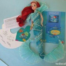 Barbie y Ken: AQUA FANTASY DRESS COSTUME FOR DISNEY MATTEL DOLL / CONJUNTO COMPLETO BARBIE PELICULA LA SIRENITA. Lote 119583247