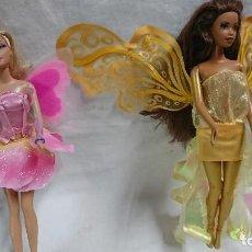 Barbie y Ken: LOTE DE DOS MUÑECAMUÑECAS BARBIE MARIPOSA DE MATTEL . Lote 121257323