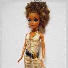 Barbie y Ken: MUÑECA BARBIE MY SCENE WESTLY MULATA DE EDICIÓN LIMITADA AÑO 2004, CON PESTAÑAS. Lote 121273379