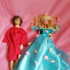 Barbie y Ken: BARBIE 1976 KEN 1968. Lote 121866100