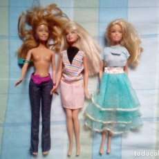 Barbie y Ken: LOTE DE BARBIES DE MATTEL. Lote 122771763
