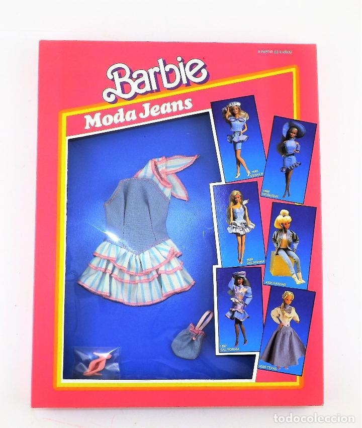 BARBIE. MODA JEANS. CONJUNTO OKLAHOMA EN CAJA (Juguetes - Muñeca Extranjera Moderna - Barbie y Ken)