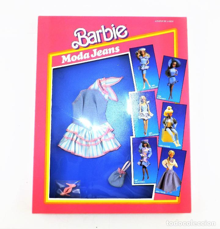 Barbie y Ken: Barbie. Moda Jeans. Conjunto Oklahoma En caja - Foto 3 - 138522706