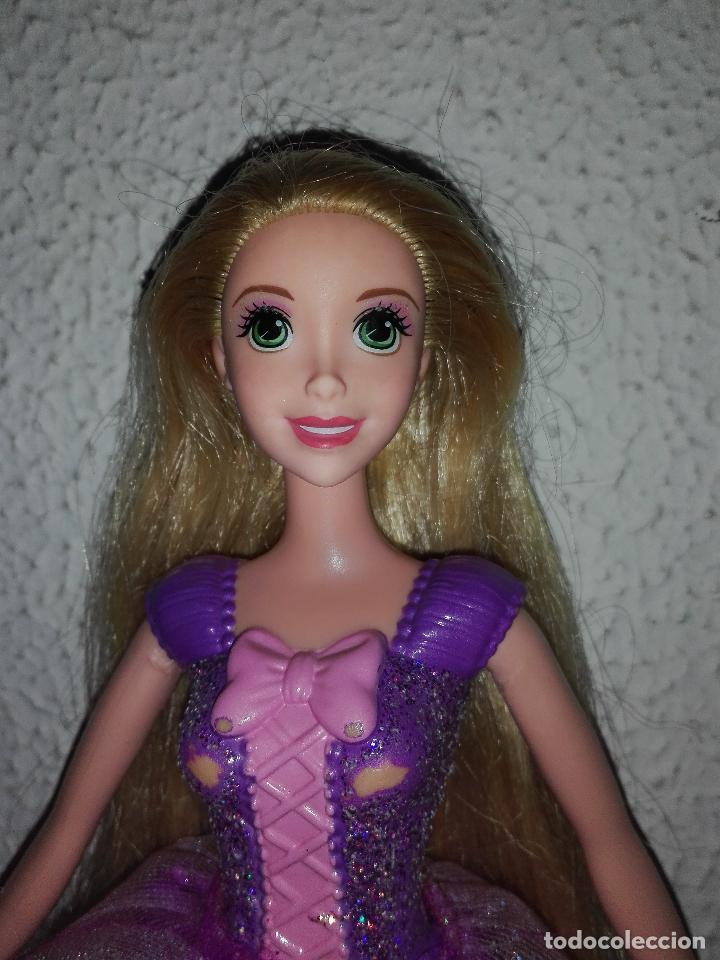 Muñeca Barbie Rapunzel Princesa Disney Cpr