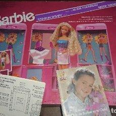 Barbie y Ken: BARBIE FASHION WRAPS SHOP DE MUÑECA BARBIE DE MATTEL 1989. Lote 125088671