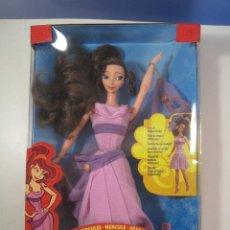 Barbie y Ken: BARBIE MEGARA FASHION SECRETS COLECCION MATTEL AÑO 1996 DE LA PELICULA DE DISNEY HERCULES EN CAJA. Lote 125328779