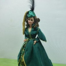 Barbie y Ken: BARBIE DE COLECCIÓN SCARLETT O'HARA-LO QUE EL VIENTO SE LLEVÓ-GONE WITH THE WIND-DESCATALOGADA. Lote 125909359