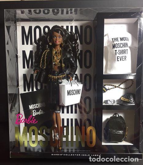 MOSCHINO BARBIE® DOLL – AFRICAN AMERICAN # DNJ32 # AA NRFB (Juguetes - Muñeca Extranjera Moderna - Barbie y Ken)