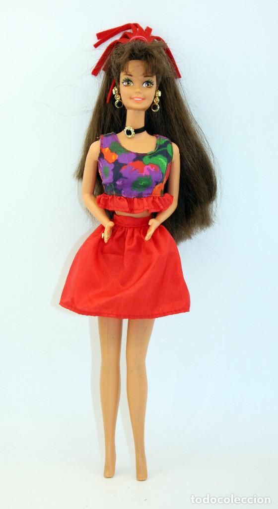 Barbie Morena Cut N Style De Mattel Ano 1994 Sold Through Direct