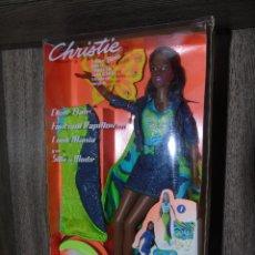 Barbie y Ken: BARBIE CHRISTIE SILLA DE MODA MATTEL NRFB. Lote 128181615