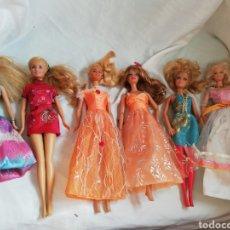 Barbie y Ken: LOTE 6 BARBIES. Lote 128365555