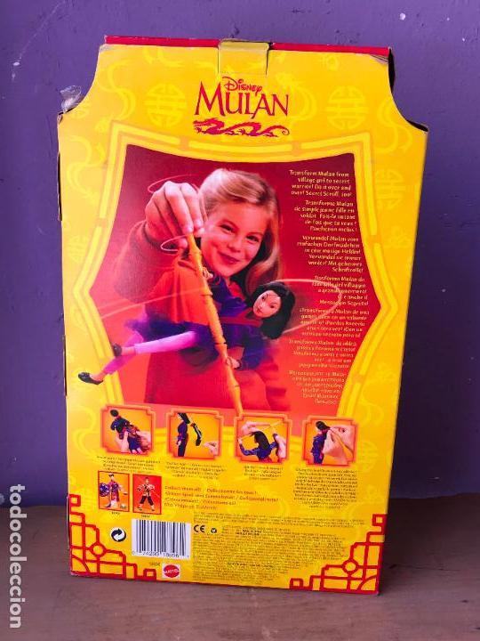Barbie y Ken: Muñeca SECRET HERO MULAN. 1997. [NUEVA EN CAJA]. MATTEL. DISNEY. - Foto 2 - 129301343