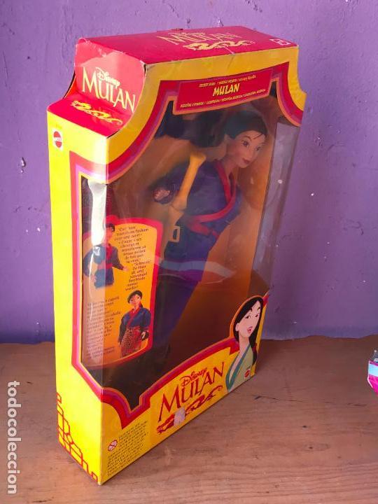 Barbie y Ken: Muñeca SECRET HERO MULAN. 1997. [NUEVA EN CAJA]. MATTEL. DISNEY. - Foto 3 - 129301343