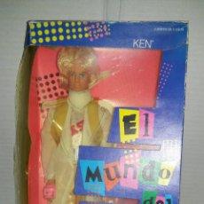 Barbie y Ken: KEN ROCK STARS. EL MUNDO DEL ROCK. BARBIE. NUEVO EN CAJA. MATTEL. REF 3131. BARBIE Y LOS ROCKSTARS.. Lote 130218491