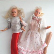 Barbie y Ken: LOTE DOS MUÑECAS BARBIE - TIPO BARBIE ANTIGUAS. Lote 130958156