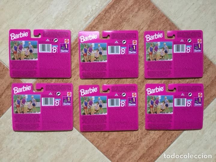 Barbie y Ken: Lote 6 vestidos Barbie Mi Moda Favorita - Mattel, 1996 - DESCATALOGADO NUEVO A ESTRENAR - Foto 2 - 132050563