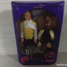 Barbie y Ken: MUÑECO LA BESTIA-LA BELLA Y LA BESTIA- DE DISNEY,MATTEL. Lote 134591226