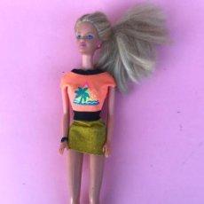 Barbie y Ken: MUÑECA BARBIE GLITTER HAIR PEINADOS BRILLANTES. Lote 134739698