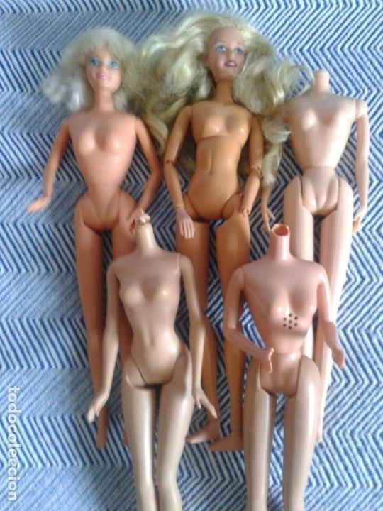 Barbie y Ken: DESGUACE DE MUÑECAS BARBIE ,DOS MUÑECAS MAS CUERPOS - Foto 3 - 134805486