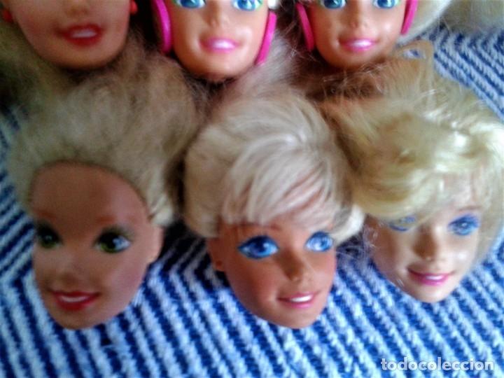 Barbie y Ken: LOTE DE SEIS CABEZAS PERTENECIENTE A BARBIES DE LOS AÑOS 80 - Foto 2 - 134805714