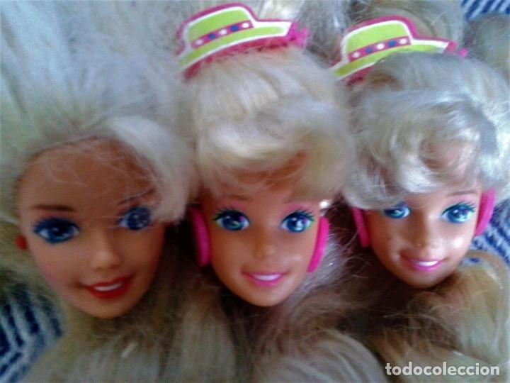 Barbie y Ken: LOTE DE SEIS CABEZAS PERTENECIENTE A BARBIES DE LOS AÑOS 80 - Foto 3 - 134805714