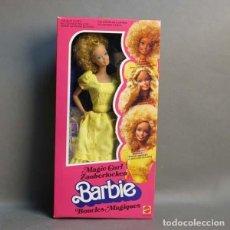 Barbie y Ken: BARBIE MAGIC CURL EN SU CAJA ORIGINAL SIN USAR. MATTEL 1981. (BRD). Lote 136704134