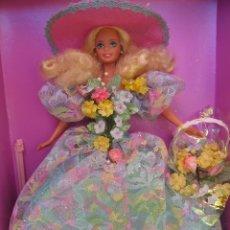 Barbie y Ken: ESTACIONES ENCANTADAS BARBIE PRINCESA DOLL COLECCION NUEVA EDICION LIMITADA RAMO DE PRIMAVERA CAJA. Lote 137917258