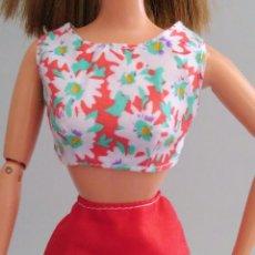 Barbie y Ken: ROPA BARBIE CONJUNTO TOP Y FALDA. Lote 139594166