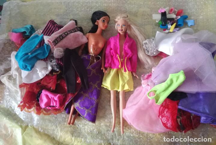 LOTE BARBIE (Juguetes - Muñeca Extranjera Moderna - Barbie y Ken)