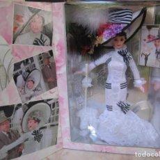 Barbie y Ken: LEYENDAS DE HOLLYWOOD BARBIE DE COLLECTION COMO ELIZA DOOLITLE EN MY FAIR LADY MATTEL DOLL NUEVA . Lote 140295274