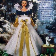 Barbie y Ken: BARBIE COLLECTOR DISNEY HOLYDAY PRINCESS BLANCANIEVES. Lote 140771282