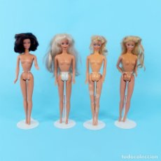 Barbie y Ken: LOTE DE MUÑECAS BARBIE DE MATTEL DE LOS AÑOS 80 Y 90. Lote 141486322