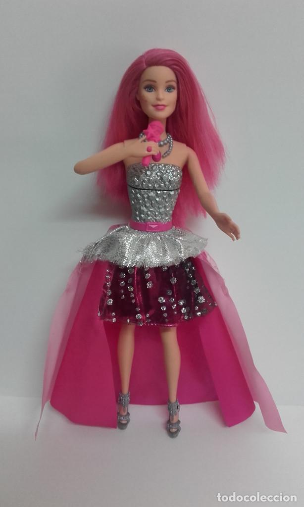 Barbie y Ken: MUÑECA BARBIE COURTNEY PELICULA LA PRINCESA Y LA CANTANTE DE MATTEL FUNCIONANDO - Foto 4 - 141836778