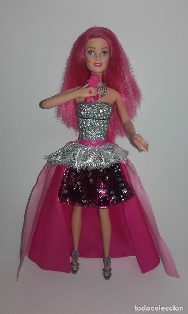 Barbie y Ken: MUÑECA BARBIE COURTNEY PELICULA LA PRINCESA Y LA CANTANTE DE MATTEL FUNCIONANDO - Foto 5 - 141836778