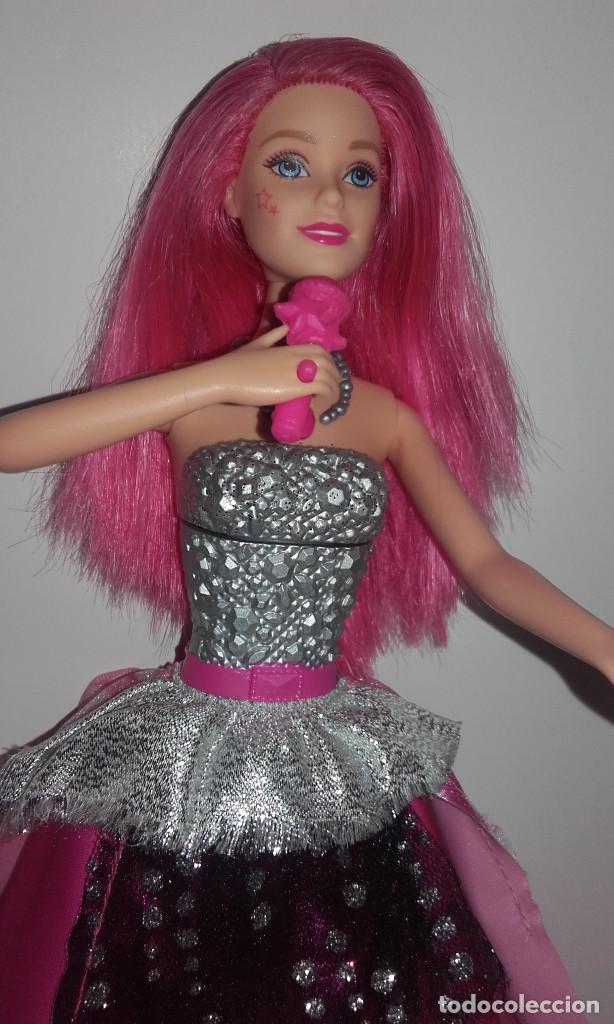 Barbie y Ken: MUÑECA BARBIE COURTNEY PELICULA LA PRINCESA Y LA CANTANTE DE MATTEL FUNCIONANDO - Foto 6 - 141836778