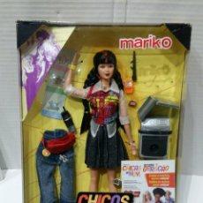 Barbie y Ken: MARIKO. CHICAS DE HOY. MATTEL. NUEVO EN CAJA. REF 28258. BARBIE. 1999. INCLUYE UNA PEANA.. Lote 142286966